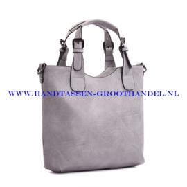 N36 Handtas Ines Delaure 1681868 souris (grijs)