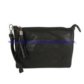 N12 Handtas Flora & Co 8041 zwart
