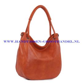 N38 Handtas Ines Delaure 1682098 savane (oranje - camel)
