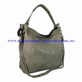 N36 Handtas Eleganci 8262-2 gris claire (grijs)