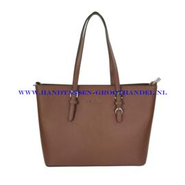 N39 Handtas Flora & Co F9126 marron (bruin)