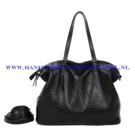 N39 Handtas Ines Delaure 1682870 zwart