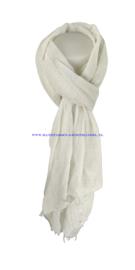 N7 sjaal 19215 wit