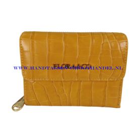 N20 portemonnee Flora & Co 2703 moutarde (mosterd - geel)