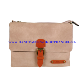 N30 Handtas Flora & Co 6768 rose pale (roze)