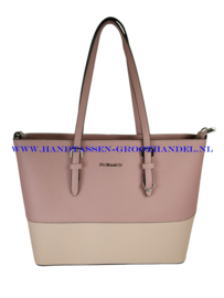 N39 Handtas Flora & Co F9126 vieux rose - beige taupe (roze)