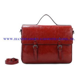 N73 Handtas Ines Delaure 1682482 brique (bruin - rood)