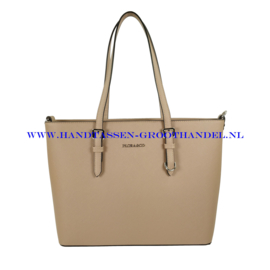 N39 Handtas Flora & Co F9126 taupe claire