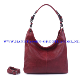 N72 Handtas Ines Delaure 1682087 bordeaux