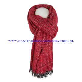 N101 sjaal ENEC-845 rood