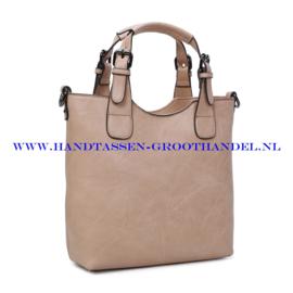 N36 Handtas Ines Delaure 1681868 creme (beige)