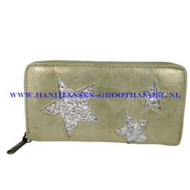 N18 portemonnee Mandoline 197 groen