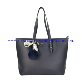 N41 Handtas Flora & Co f2508 blauw