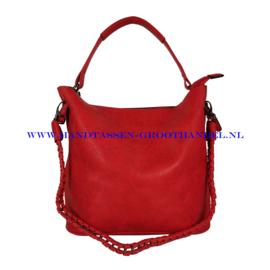N36 Handtas Eleganci 8262-3 rood