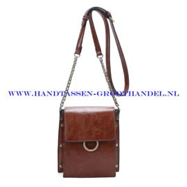 N33 Handtas Ines Delaure 1682583 camel