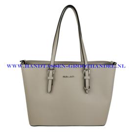 N39 Handtas Flora & Co F9126 beige taupe