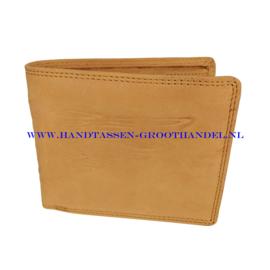 N32 portemonnee Wild 9001-2-chu tan (bruin - beige - camel)