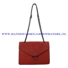 N103 Handtas Ines Delaure 1682736 brique (camel - rood)