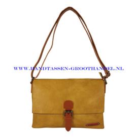 N18 Handtas Flora & Co 6708 moutarde (mosterd - geel)