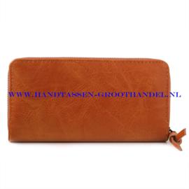N60 portemonnee Ines Delaure E002 fauve (oranje - camel)