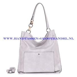 N73 Handtas Ines Delaure 1682392 argile (grijs)