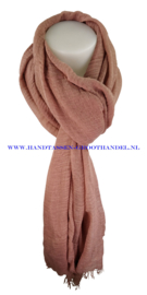 N5 sjaal enec-631 vieux rose ( roze)