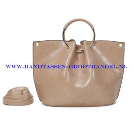 N73 Handtas Ines Delaure 1682642 creme (beige)