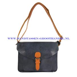 N115 Handtas Flora & Co 6711 blauw
