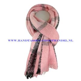 N14 sjaal ENEC-919 pink (roze)