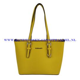 N73 Handtas Flora & Co F9179 moutarde (geel)