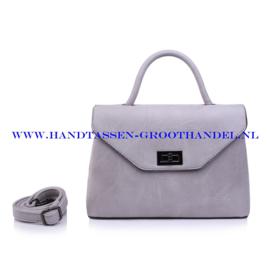 N103 Handtas Qischa 1681457m gris claire (grijs)