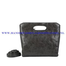 N38 Handtas Ines Delaure 1682627 grijs