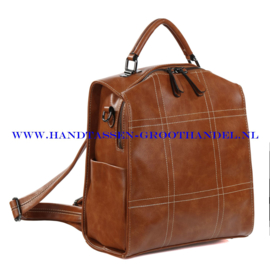 N38 Handtas-rugzak Ines Delaure 1682027 camel