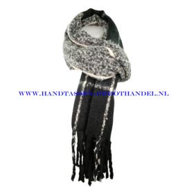 N15 sjaal 1832 zwart