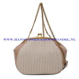 N35 Handtas Ines Delaure 1682615 creme (beige)