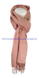 N7 sjaal ENEC-800 vieux rose (oud roze)