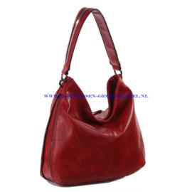 N73 Handtas Ines Delaure 1681772 marsala (rood)