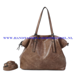 N39 Handtas Ines Delaure 1682870 frappucino (bruin)