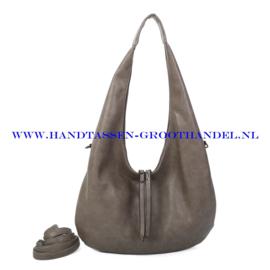 N107 Handtas Ines Delaure 1682746 taupe