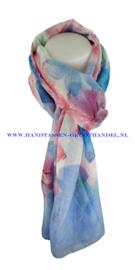 N5 sjaal enec-1036 blauw