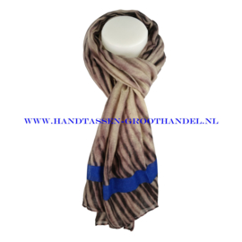 N5 sjaal ENEC-824 borland (blauw)