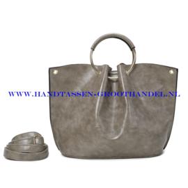N73 Handtas Ines Delaure 1682642 souris (grijs)