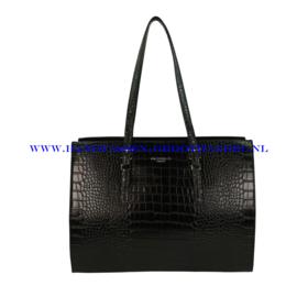 N81 Handtas Flora & Co x8002 zwart