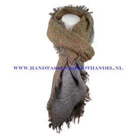 N60 sjaal 1854 groen/grijs