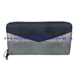 N18 portemonnee Mandoline 198 blauw