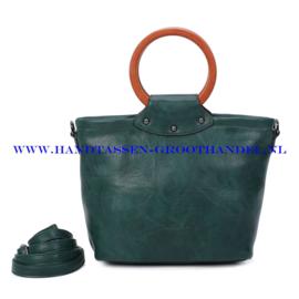 N39 Handtas Ines Delaure 1682852 pin (groen)