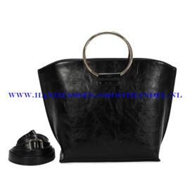 N73 Handtas Ines Delaure 1682643 zwart