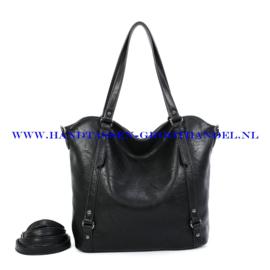 N117 Handtas Ines Delaure 1682863 zwart