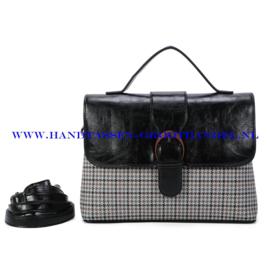 N39 Handtas Ines Delaure 1682801 zwart