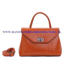 N103 Handtas Qischa 1681457a fauve (oranje - camel)